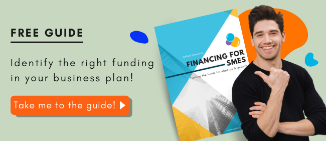 Include funding needs in your business plan