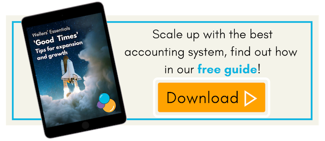 Accounting systems for scale ups