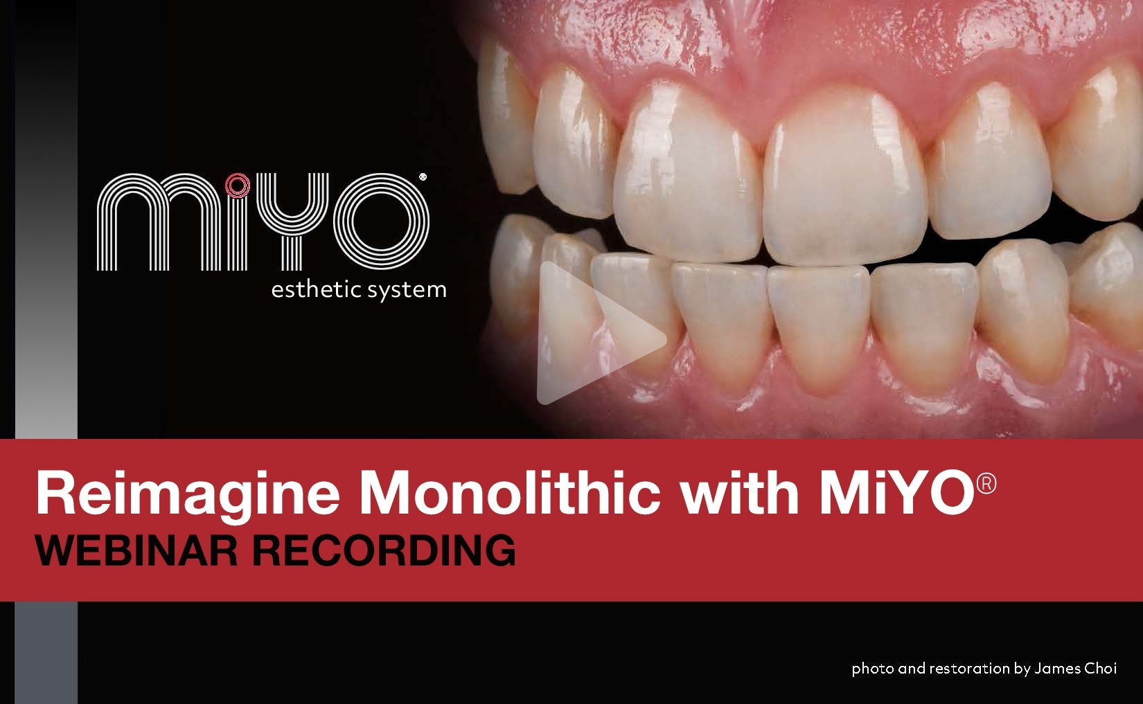 Watch the 'Reimagine Monolithic with MiYO' webinar recording - presented by James Choi & Don Cornell