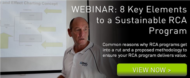 Webinar Elements to Sustain a RCA Program