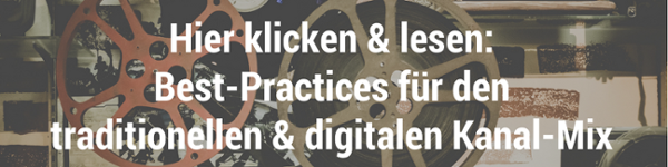 Hier klicken & lesen: Best-Practices für den traditionellen & digitalen  Kanal-Mix