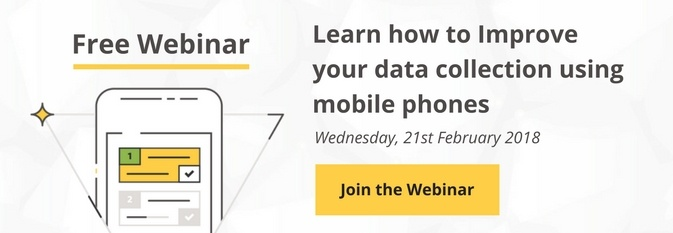 Webinar - Learn how to improve your data collection using mobiles