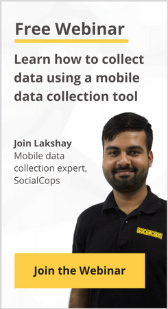Join Free Webinar - Learn Mobile Data Collection Tool