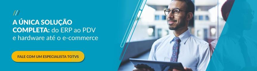 TOTVS - A única solução completa: do ERP ao PDV e hardware até o e-commerce
