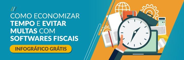 Infográfico Grátis - Como Economizar Tempo e Evitar Multas Com Softwares Fiscais