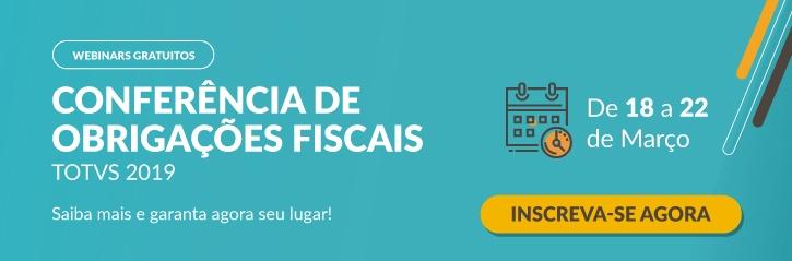Conferência de Obrigações Fiscais TOTVS 2019