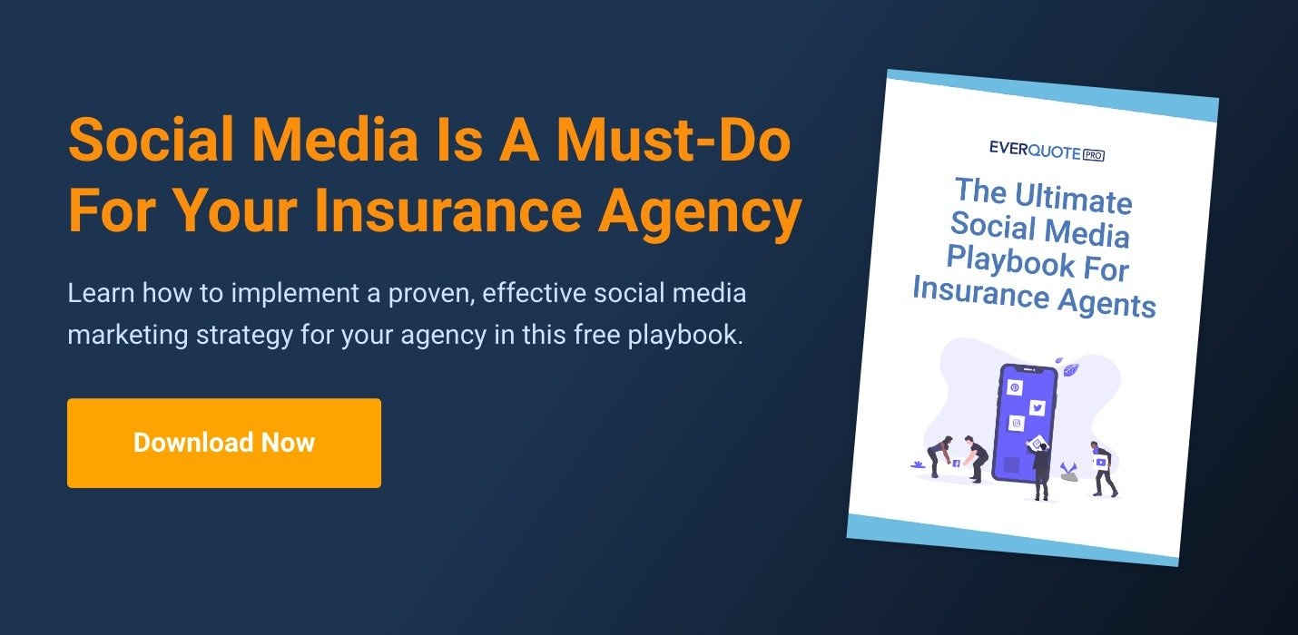Download Now: The Ultimate Social Media Playbook For Insurance Agents