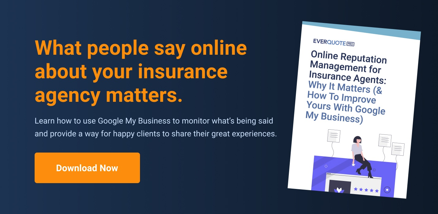 Online Reputation Management for Insurance Agents: Why it Matters