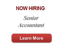 Now Hiring Senior Accountant
