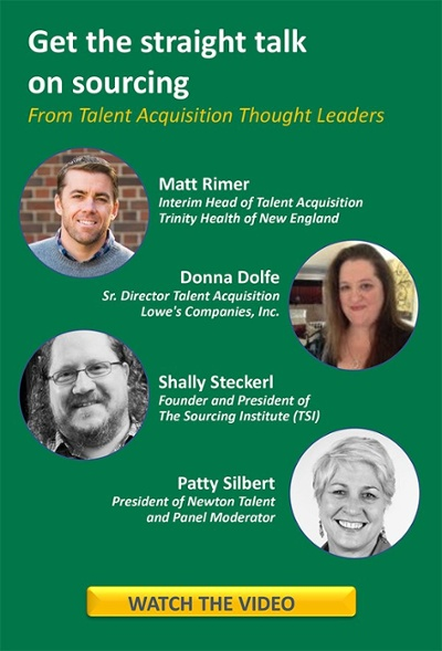 Video - See Talent Acquisition Leaders discuss sourcing