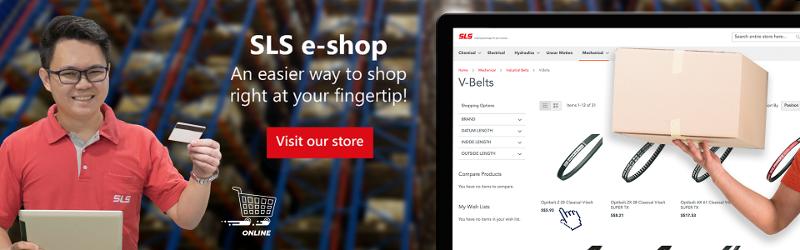 V-Belt e-shop banner