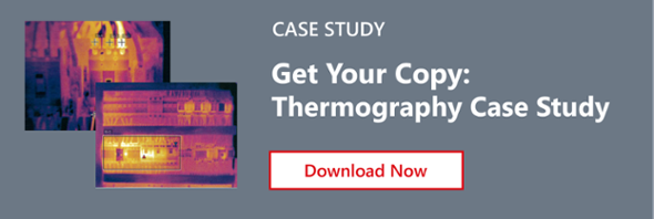 Call-to-action image showing: Download Now- Get your copy of Thermography Case Study