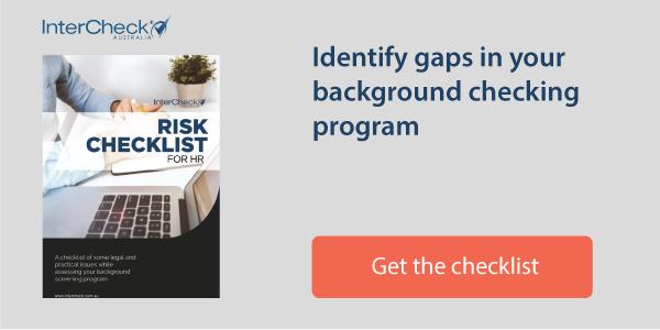risk checklist