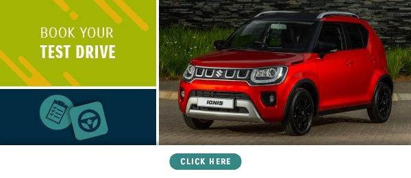 Book a test drive - Suzuki