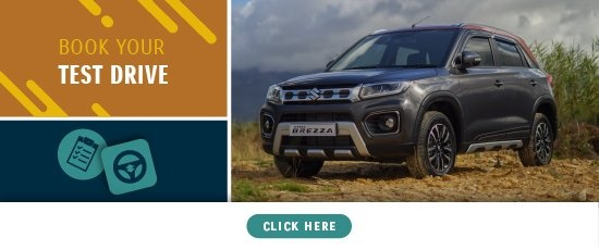 Book a test drive | Vitara Brezza