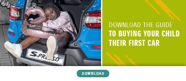 Buying a car for your child