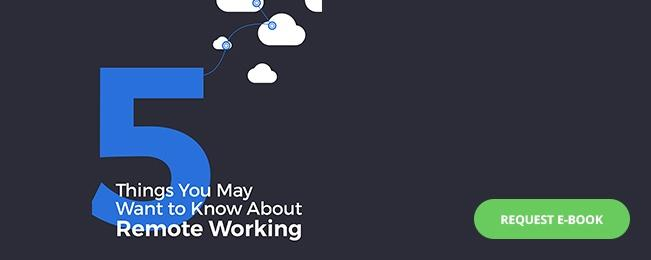 eBook 5 things you may want to know about remote working