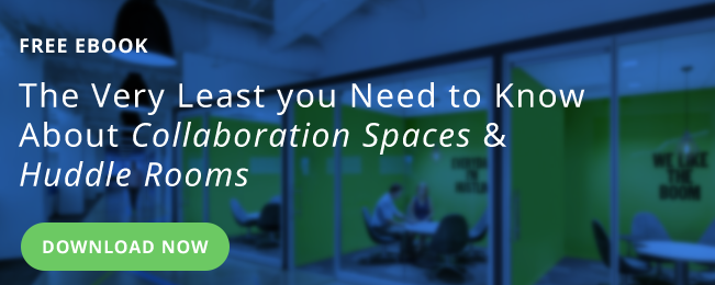 The least you need to know about collaboration spaces & huddle rooms