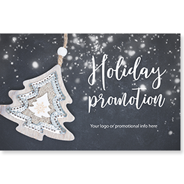 Business Christmas Promotional Card