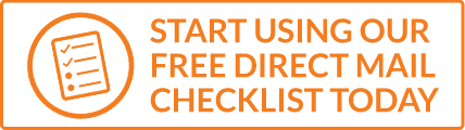 Start using our free direct mail checklist today