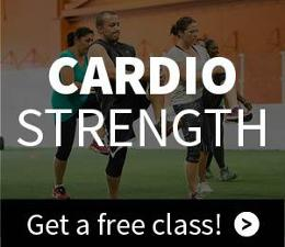 cardio strength group fitness class