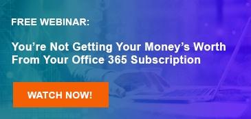 Office 365 webinar
