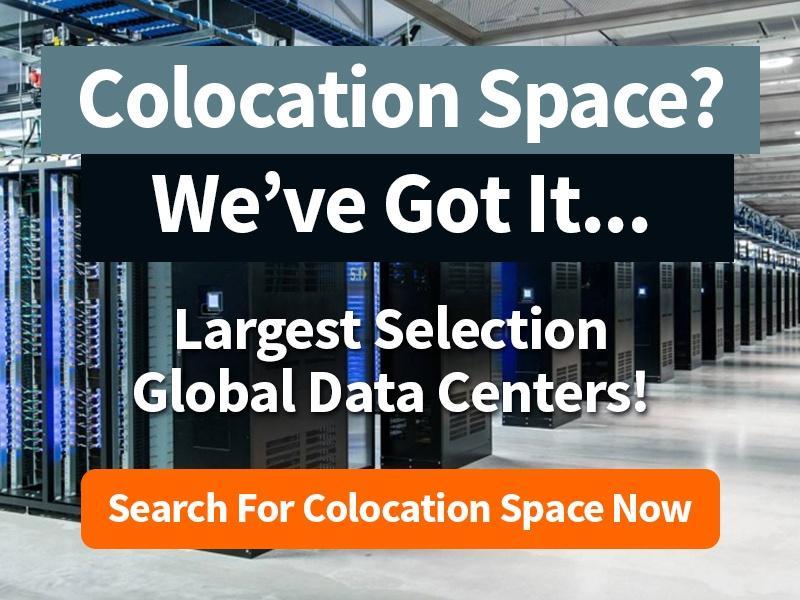Colocation Space? We've got it...