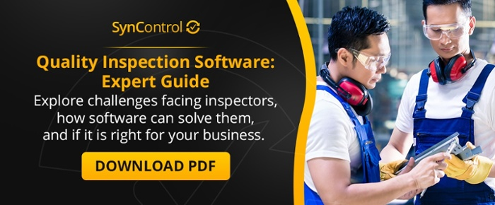 quality inspection software guide download