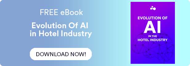Evolution of Artificial Intelligence in Hotel Industry