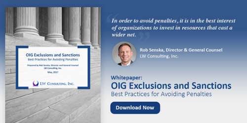 Whitepaper: OIG Exclusions and Sanctions
