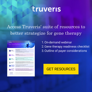 Access Truveris' suite of gene therapy resources!