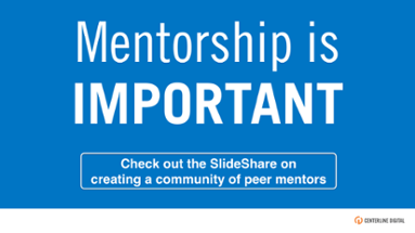 Check out our SlideShare on creating a community of peer mentors!