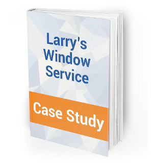 larry's window service social media case study link