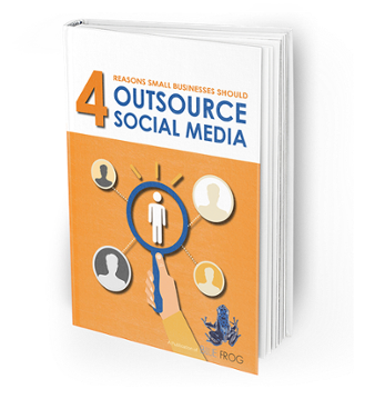 Outsourcing social media ebook