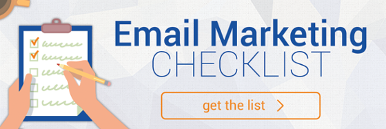 Email marketing checklist