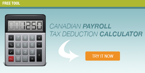 Canadian Payroll Tax Deduction Calculator