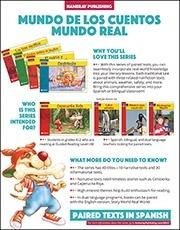 Mundo de los Cuentos Mundo Real Sales Sheet
