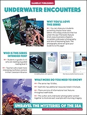 Underwater Encounters Sales Sheet