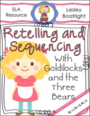 Goldilocks Retelling and Sequencing Packet Download
