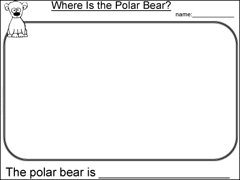 Arctic Habitat Worksheets