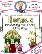 A Home for Me Nonfiction Packet Download