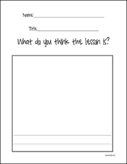 Lessons Learned Worksheet