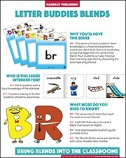 Letter Buddies Blends Sales Sheet