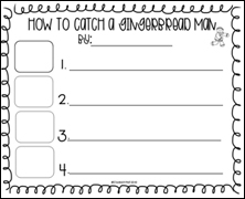 Gingerbread Worksheet