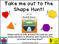 Shape Hunt Shape Cards Download