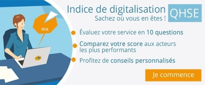 Digitalisation Qualite et HSE