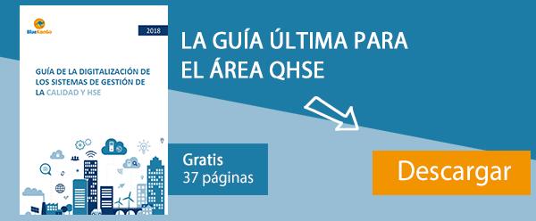 GUÍA DE LA DIGITALIZACIÓN DE LOS SISTEMAS DE GESTIÓN DE LA CALIDAD Y HSE