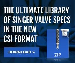 Ultimate Library of Specs | SInger Valve