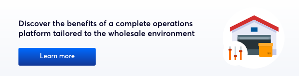 operations platform for wholesale