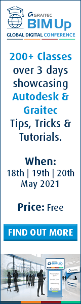 Graitec BIMUp Global Digital Conference - 18th, 19th & 20th May - Find Out More